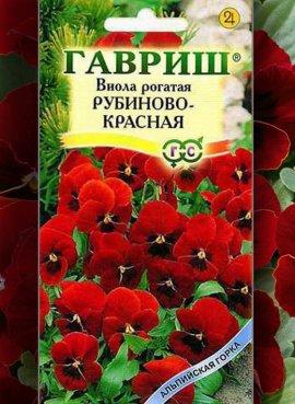Виола Рубиново-красная,...